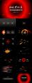 【动态】黑洞系星空科技黑红模板示例7