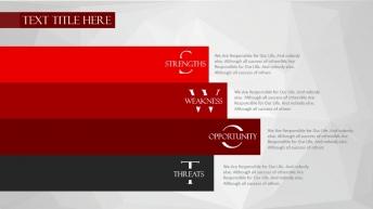 【年终大戏】酒红欧美时尚商务PPT 优雅 简洁示例5