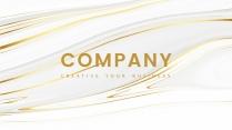 【现代简约】创意金色商务汇报工作计划模板