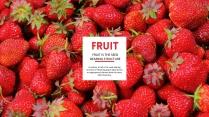水果-简约模板