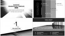 【大气黑白灰】极简高端商务报告年终汇报项目提案示例3