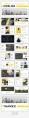 【超色】21套配色超值简约杂志风商务PPT模板示例6