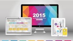 【色彩迭起】超实用创意商务模板 示例2