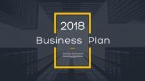 【完整框架】创意图文混排商业计划书策划书模板07
