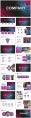 【抽象艺术】创意排版工作总结汇报模板(含四套)示例4