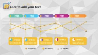 【色彩迭起】超实用创意商务模板 示例4