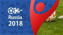 2018世界杯俄罗斯足球激情炫酷PPT模板