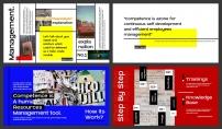 【极简】复古潮牌风格简约模板示例3