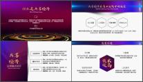 【商务中国】公司企业品牌发布年终工作总结PPT示例3