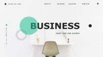【简约商务】创意多排版多用途总结报告商务汇报模板1