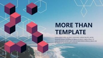 欧美杂志排版简洁高端实用PPT模板14(震惊BOS
