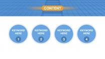 【keynote】简约流畅商务汇报总结模板10示例3