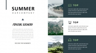 【最美画报】森林绿杂志风模板4.0示例4