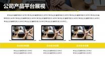黃黑簡潔大氣商業企劃書示例6