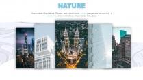 【现代都市】蓝色系城市地图风格报告示例4