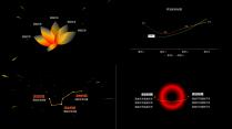 【动态】黑洞系星空科技黑红模板示例6