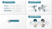 微立体大气简约商务PPT模板示例7
