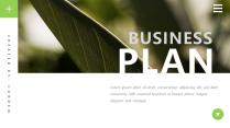 【简约商务】绿色自然大气杂志风PPT模板
