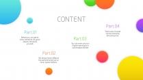 【极简美学-陆】唯美微渐变&互联网科技感多色模板示例3