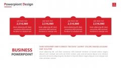 【RED】紅色(二十一)年終工作報告模板【95】示例4