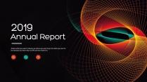 创意几何炫彩总结报告工作计划商务策划模板