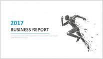 【极简设计】简约商务清新通用报告模板示例2