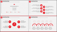 红白简约风格细致排版商业实用模板示例3