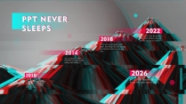【抖音故障风】网红时尚潮流艺术&互联网炫彩创意空间示例5