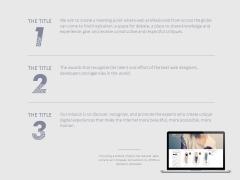 蓝灰系列极简优雅商务汇报论文答辩PPT模板示例3