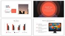 【设计感】清新简约杂志风PPT模板11示例7