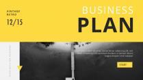 【簡約商務】28P黃色大氣雜志風工作匯報PPT模板
