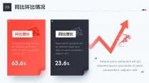 【年终总结】蓝·橙高端商务模板1.0(双色)示例3
