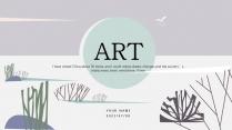 【拼贴艺术】手绘卡通简约自然风模板