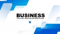 大气简约公司企业商务工作总结汇报PPT