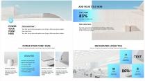 【商务蓝】极简高端大气项目报告年终汇报总结提案示例4
