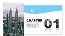 【现代都市】蓝色系城市地图风格报告示例3
