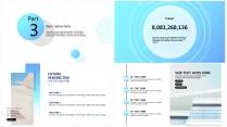 【商务蓝】极简高端大气项目报告年终汇报总结提案示例6