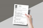 【一夜就够了】HR一眼相中PPT个人简历-159示例6
