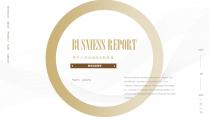 【商务】白色金色年中总结汇报&述职商务模板42示例2