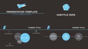 丰富版式设计经典配色高端商务通用PPT演示模板