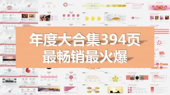 【年度大合集】畅销火爆的394页PPT